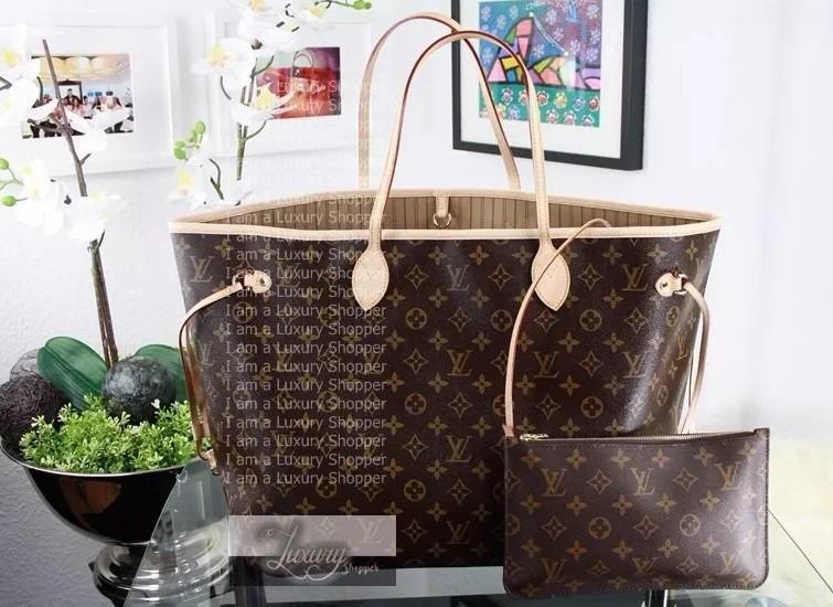 65cbb53f4 Bolsa Louis Vuitton Neverfull Monogram Original | Stanford Center ...