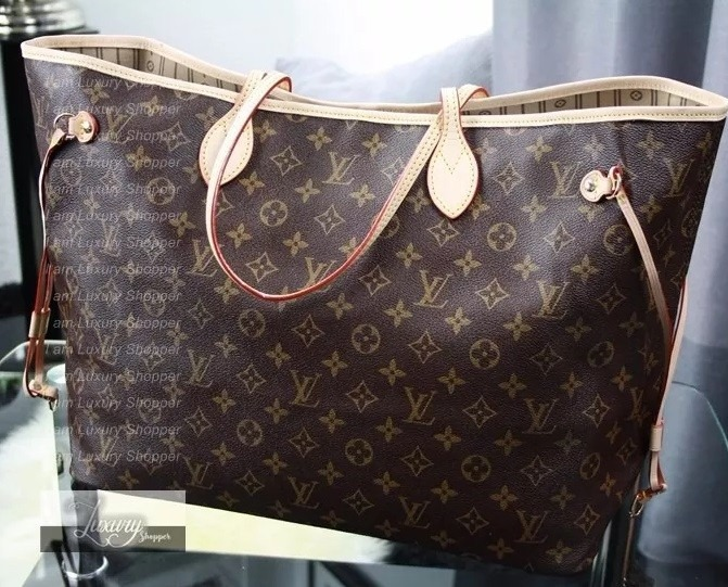 ce4d708ea Bolsa Louis Vuitton Neverfull Monogram Original | Stanford Center ...