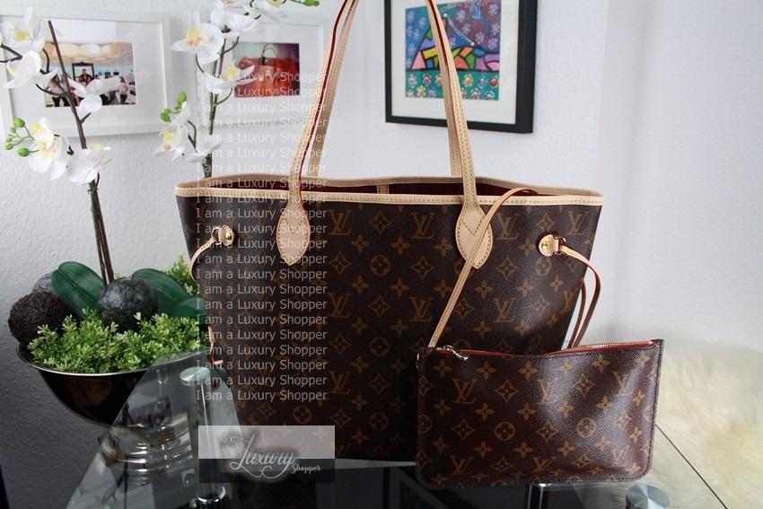 a1a4012b5 Bolsa Louis Vuitton Neverfull M M Monogram - Original! - R$ 2.790,00 ...