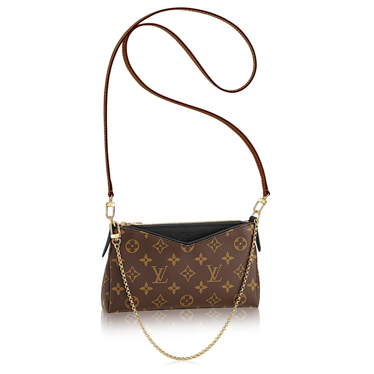 ed58a49372f bolsa louis vuitton pallas mini feminina monogram importada. Carregando  zoom.