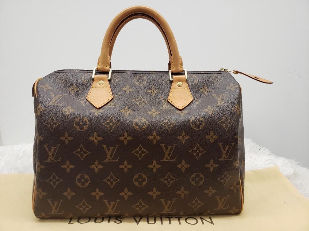 cec11c85f Bolsa Louis Vuitton Speedy 30 Monogram Original - $ 18,500.00 en ...