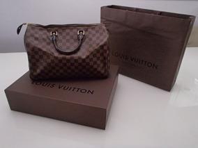 b13abdda6 Bolsa Louis Vuitton Whisper Damier Ebene - Calçados, Roupas e Bolsas ...