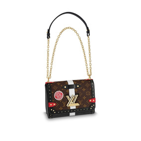 312a85d15 Bolsa Louis Vuitton Eva Clutch Original - Bolsas de Couro Preto no ...