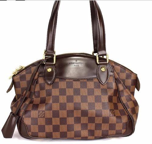 2eac91090 Bolsa Louis Vuitton Verona Damier Ebene Original - R$ 2.800,00 em ...