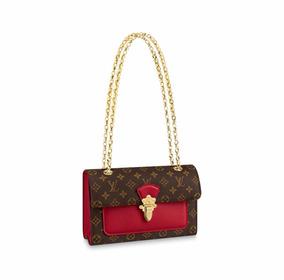 dbd4ddf9c Bolsa Louis Vuitton Vermelha Houston Verniz - Bolsas Femininas no ...