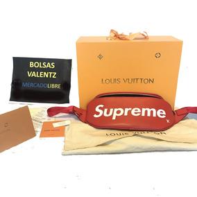 a36fc80c2 Bolsa Luis Vuitton Supreme Bumbag Mariconera Lv Epi En Caja
