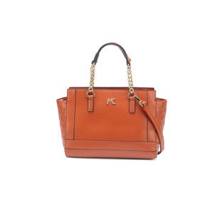 66350e696 Bolsa Macadâmia Feminina Grande Moderna Reforçada Caramelo por Oh My Bag