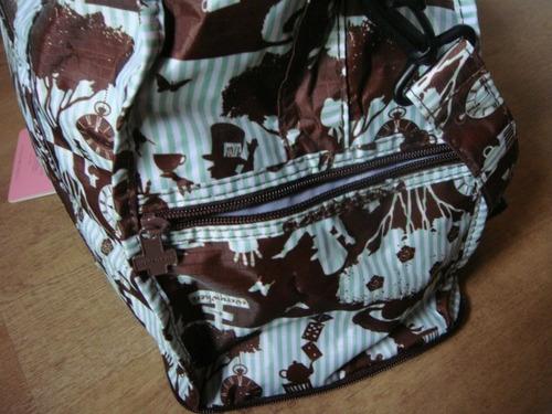 bolsa / mala  alice no país das maravilhas  impor. japão