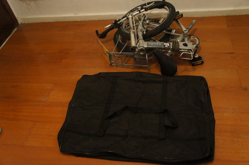 bolsa mala bicicleta dobrável aro 20 - dahon, blitz, durban