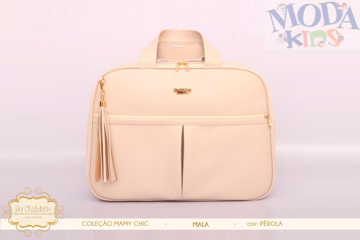 37541122e9e Bolsa Mala De Luxo - Maternidade - Mamy Chic - Pérola - R  239