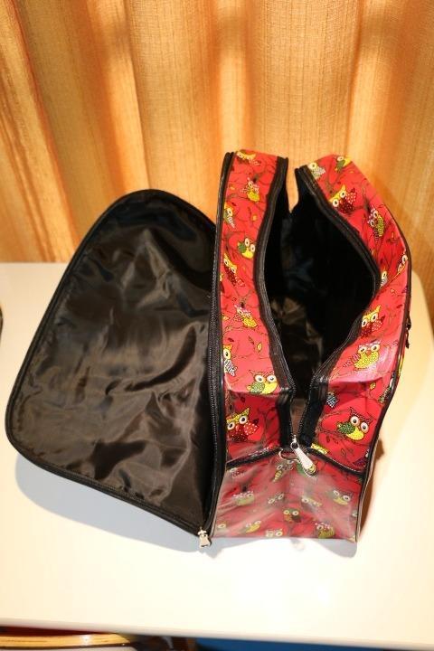 Bolsa De Viagem De Mão : Bolsa mala de m?o viagem coruja e estampada r
