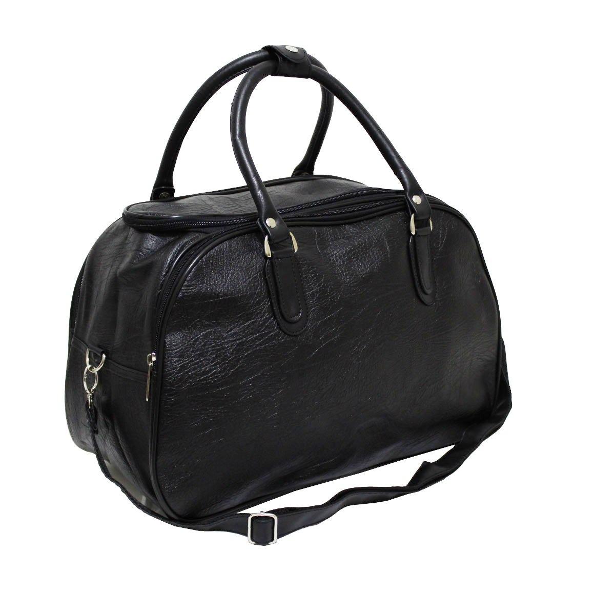 2c6c969d23 bolsa mala de mão viagem masculina couro c  alça tira colo. Carregando zoom.