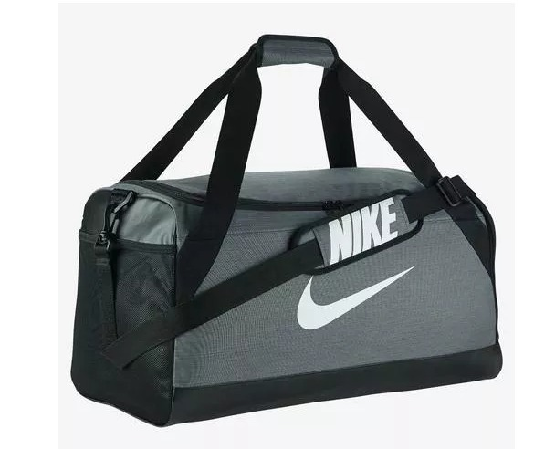 ee125cca6 Bolsa Mala Nike Media Brasília Ba5334 Preto/cinza - R$ 139,00 em ...