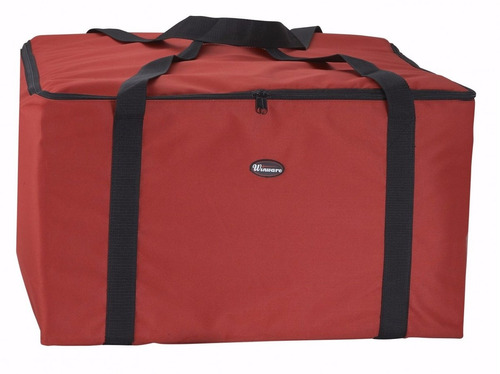 bolsa maleta domicilio para entregas de pizza 22  x 22  x 13