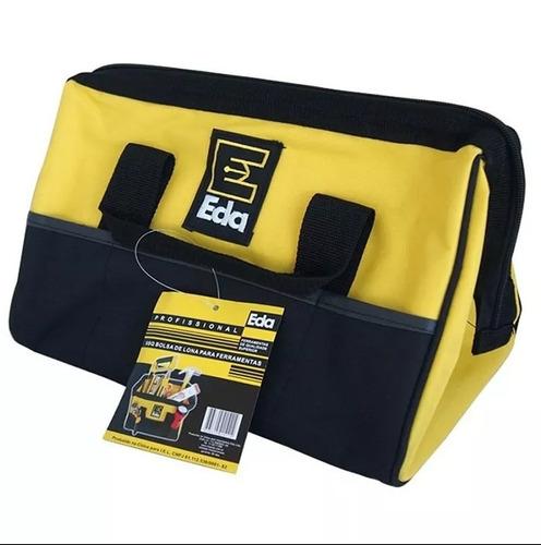 Bolsa De Lona Para Carregar Ferramentas : Bolsa maleta lona para ferramentas bolsos fundo r?gido