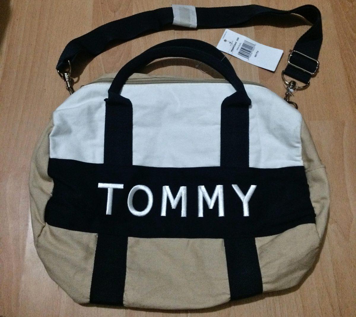 f2be6b7f1f4 Bolsa Maleta Mochila Tommy Hilfiger 100% Original!! -   899.00 en ...