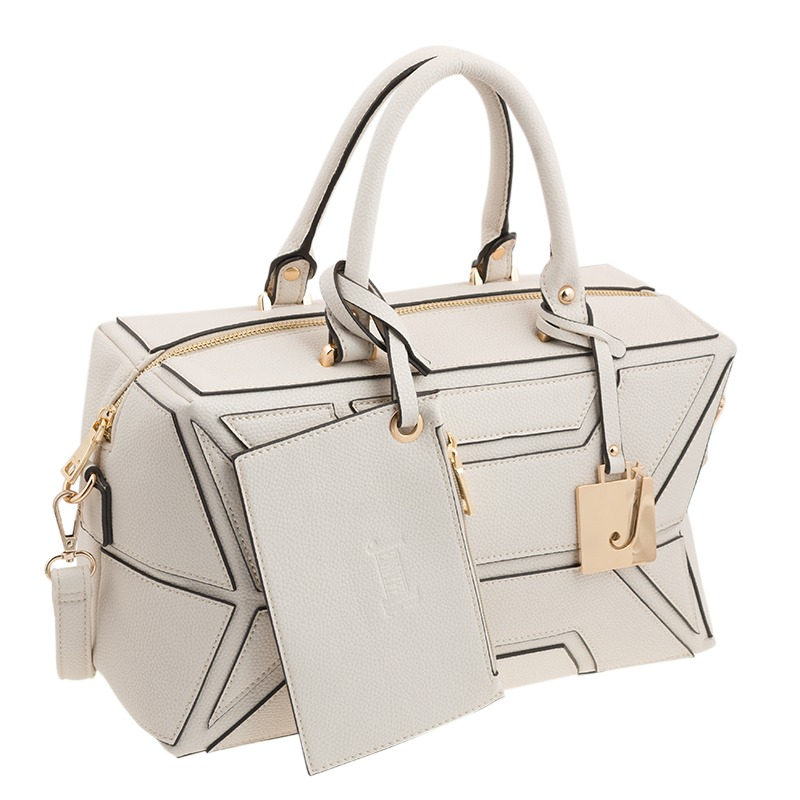 0667b6f7e Bolsa Mano Blanca Original Dama Mujer Cartera Jennyfer - $ 549.00 en ...