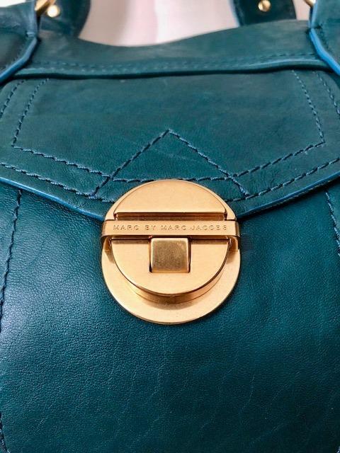 pretty nice 1d5bc 0b981 Bolsa Marc Jacobs Couro Verde Original Comprada Na Italia
