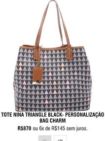 5430cb3b1 Bolsa Schutz Triangle Réplica Parana Londrina - Bolsas Femininas, Usado no  Mercado Livre Brasil