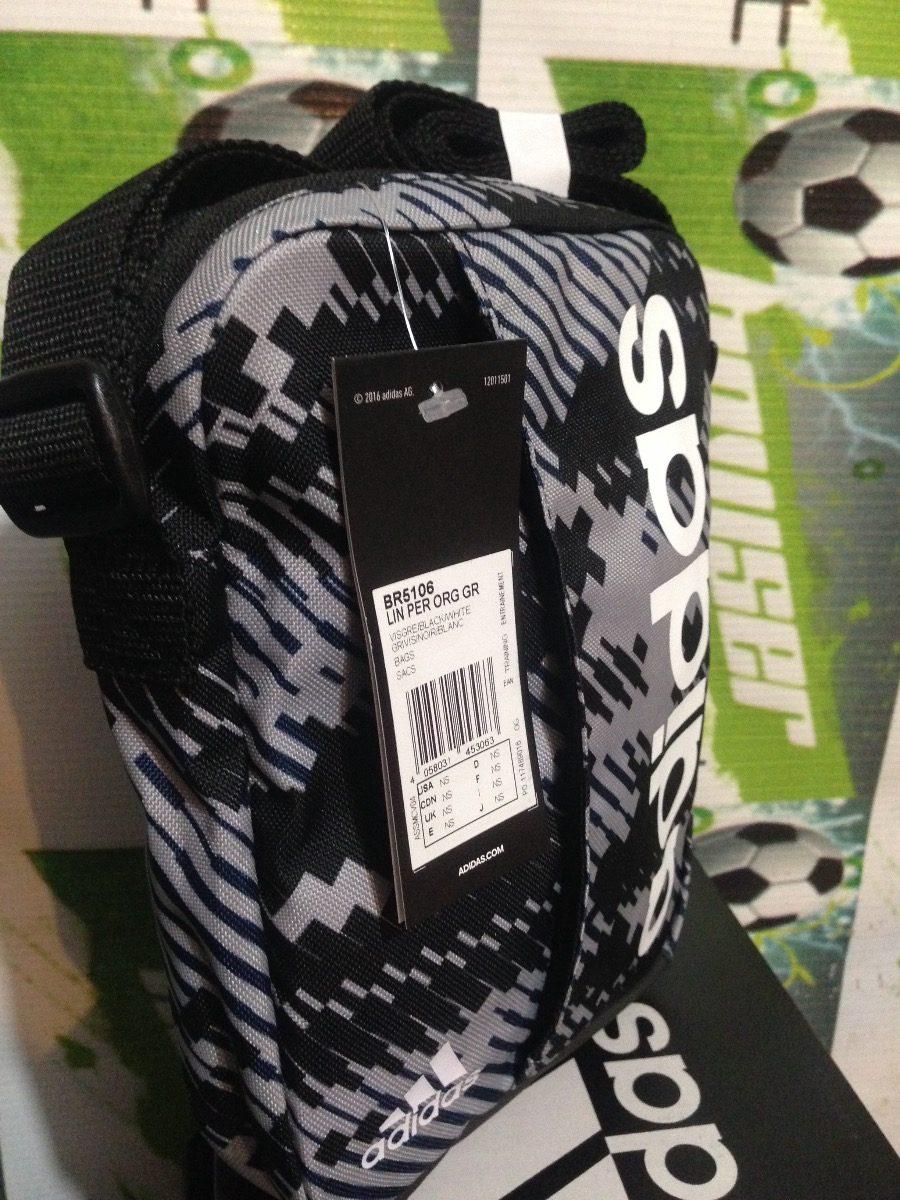 6a55e13a81 Bolsa Mariconera adidas Performance 100% Original Gris -   399.00 en ...