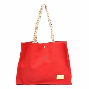 580141c91 Bolsas Femininas Mk Original Dourada - Bolsa Outras Marcas Vermelho ...