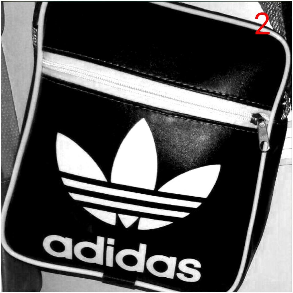 254fc34145d Carregando zoom... masculina adidas bolsa. Carregando zoom... bolsa  masculina feminina nike ou adidas kit com 6 peças