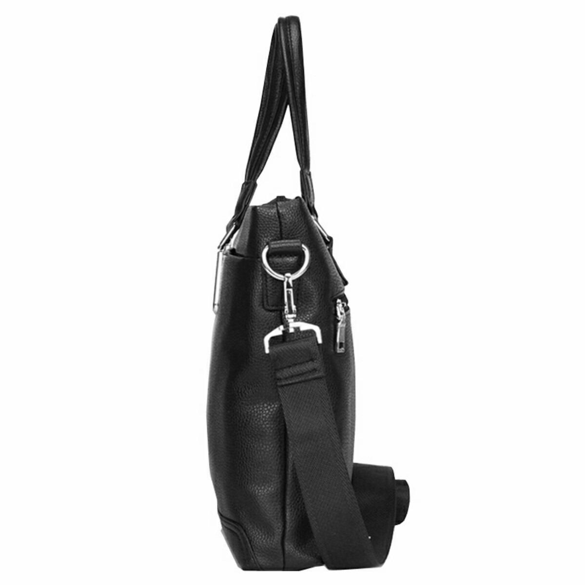 Bolsa De Couro Masculina Mercado Livre : Mala pasta bolsa masculina polo couro grande polegadas