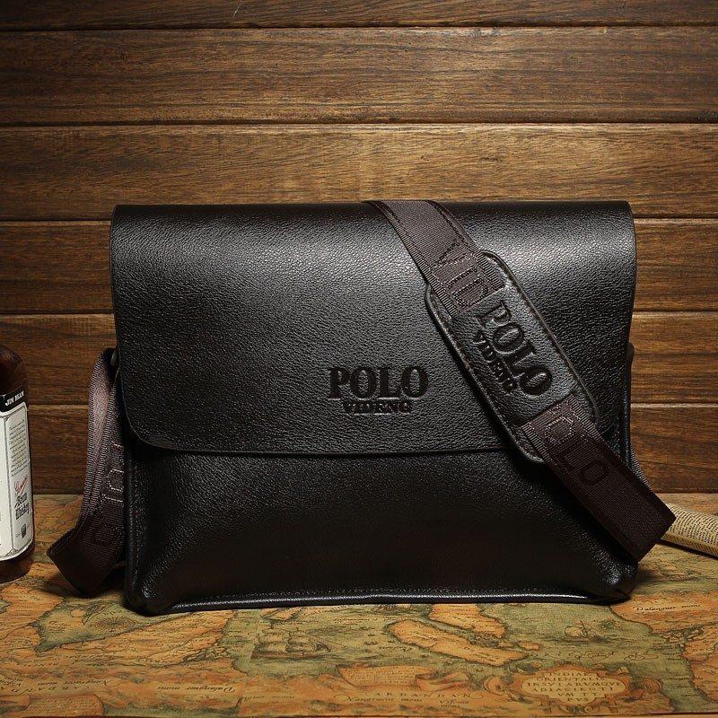 Bolsa De Couro Masculina Mercado Livre : Bolsa masculina polo couro importado suppertottal