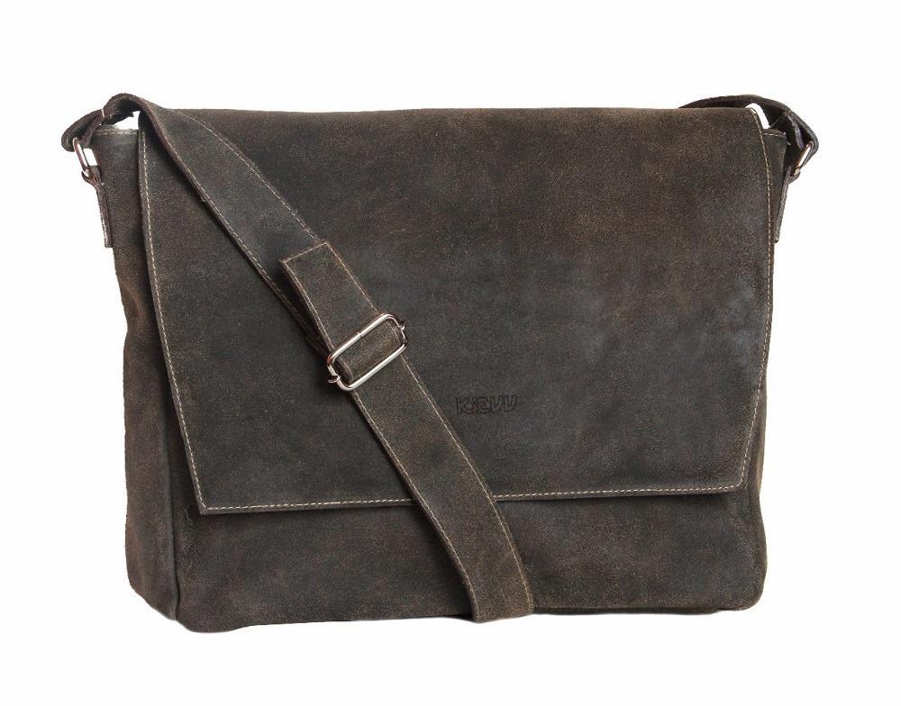e57bb4e5b bolsa masculina couro rústico transversal pasta notebook. Carregando zoom.