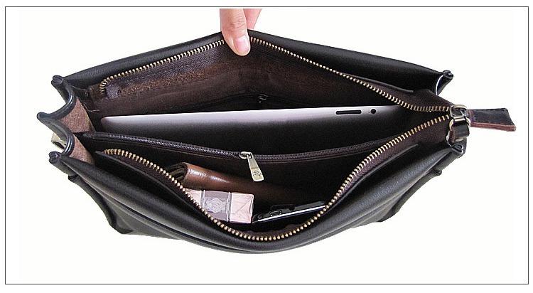 a1a800eaaa627 Bolsa Masculina De Couro Polo Pasta Grande - R$ 150,00 em Mercado Livre
