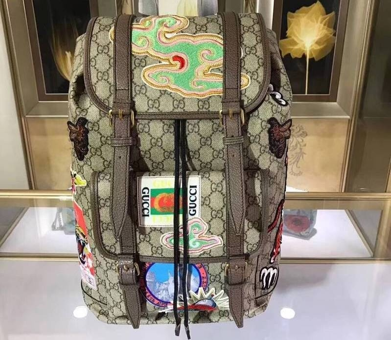 d7c129aad3bb Bolsa Masculina Gucci - Gucci Courrier Soft Gg Supreme 27 - R  7.252 ...