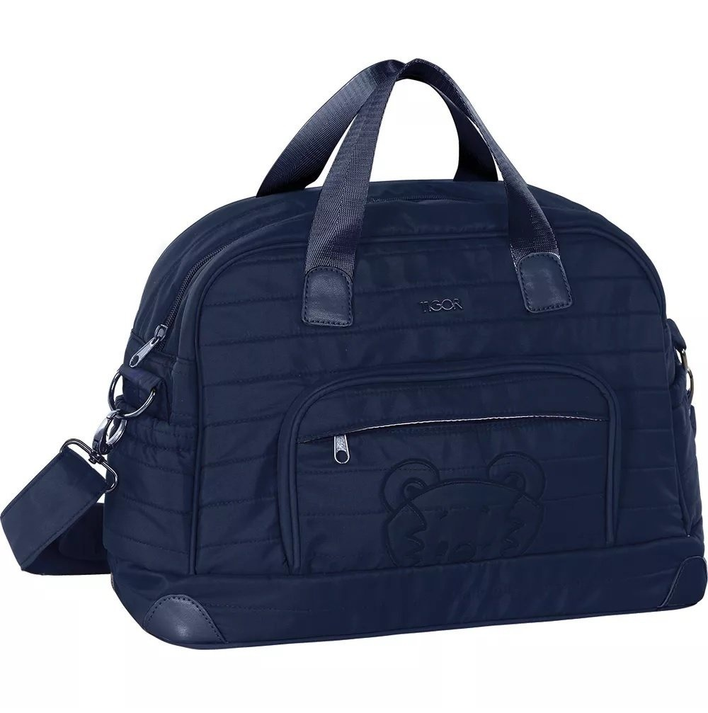 bolsa maternidade azul marinho 80203365 - tigor t. tigre. Carregando zoom. f6f8464446d
