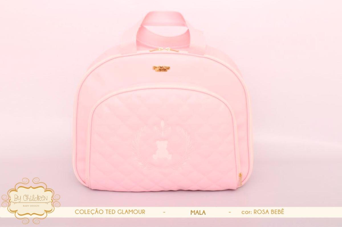 20478b947de Kit Bolsa De Maternidade De Luxo Para Bebê - R  799