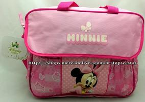 49db6f5cfb Kit De Bolsa Para Bebe Minnie no Mercado Livre Brasil