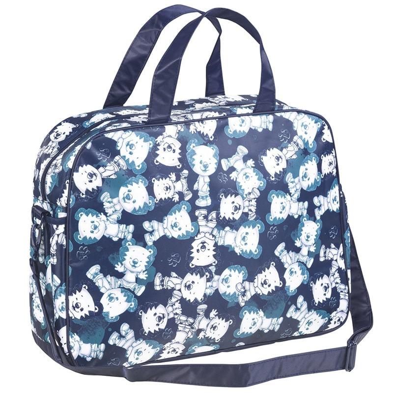737c3dcf2 Bolsa Maternidade (grande) - Azul Marinho Tigor Baby - R$ 299,00 em ...