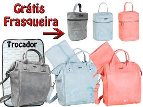4dfc9b5a5d Bolsa Maternidade Tigor Media no Mercado Livre Brasil