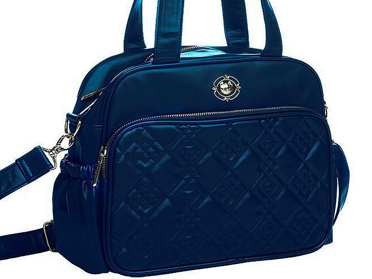d47595c63 Bolsa Maternidade Pequena Azul Marinho Tigor T.tigre - R$ 198,00 em ...