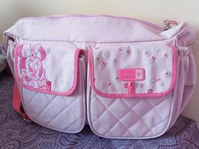 4a3ea323be Bolsa Maternidade Minnie Baby no Mercado Livre Brasil