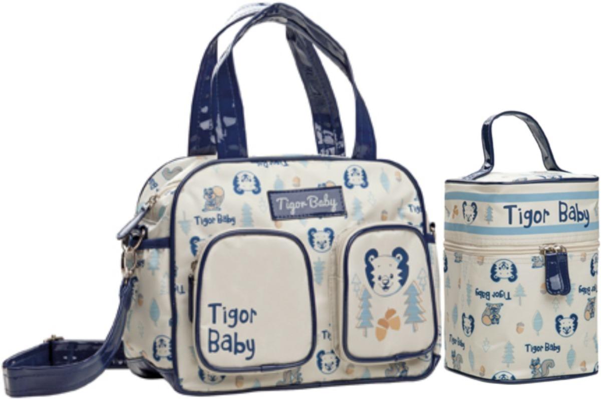bc01a8fbf Bolsa Maternidade Tigor T.tigre P + Frasqueira Outono/16 - R$ 219,90 ...