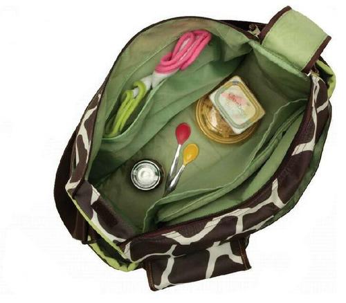 bolsa maternidade + trocador + babador a pronta entrega
