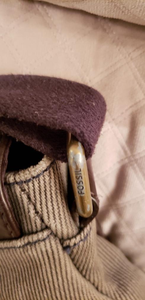 1b868e96ac67 bolsa messenger bag masculina marca fossil - 100% autentica. Carregando zoom .