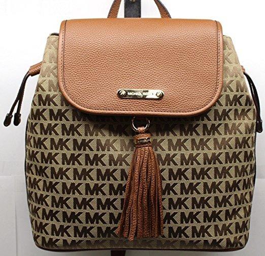 5f37dd6e9641 ... norway bolsa michael kors backpack with tassel 100 original 73d72 1d881