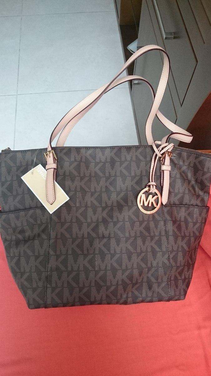 9d64032f0 Bolsa Michael Kors Marrom Novinha - R$ 1.410,00 em Mercado Livre