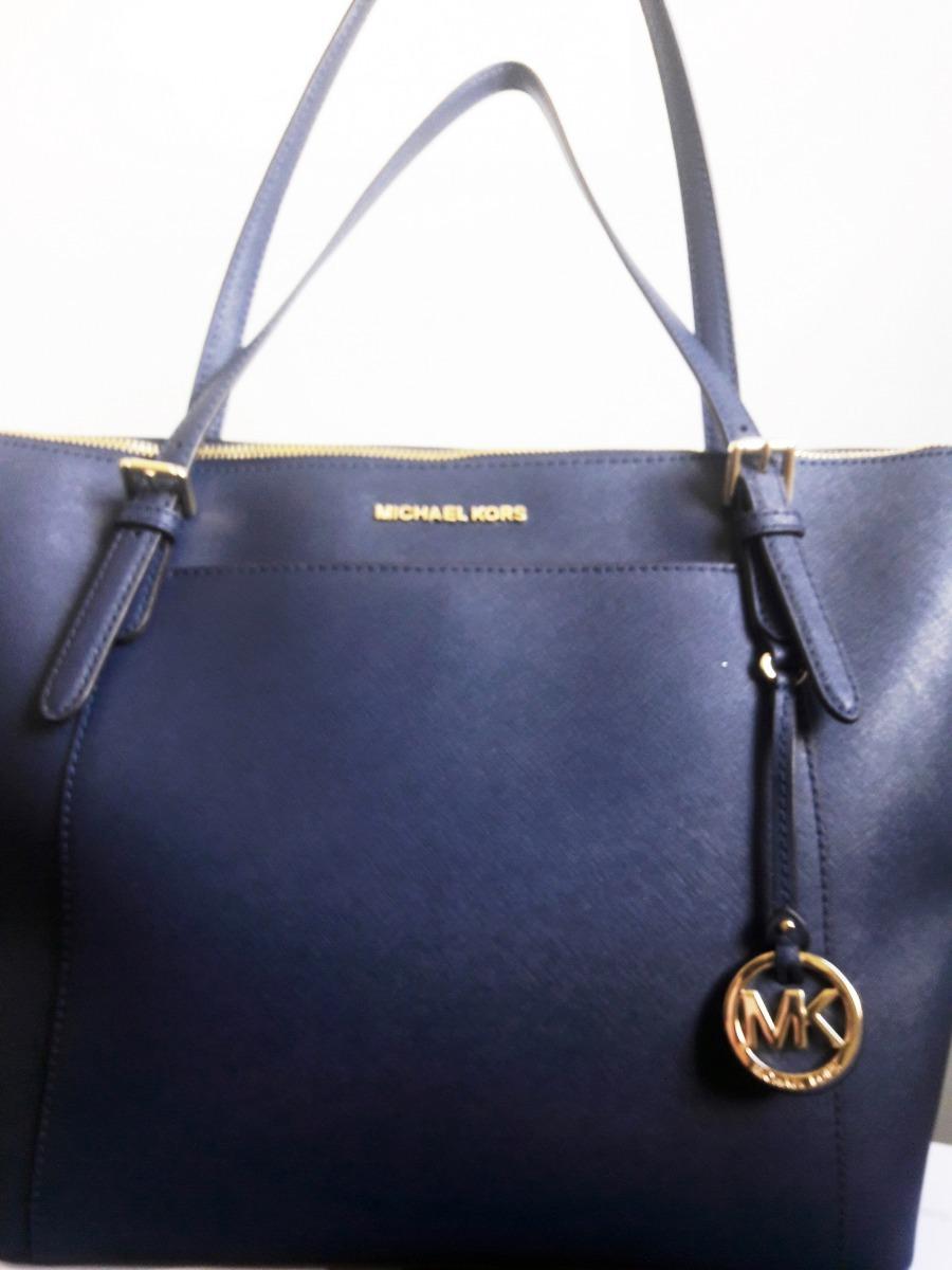 47333881d Bolsa Michael Kors Original - Azul Marinho - R$ 1.200,00 em Mercado ...