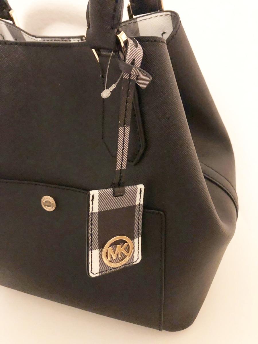 2ebb49c80 Bolsa Michael Kors Original-greenwich - Preta - R$ 1.200,00 em ...