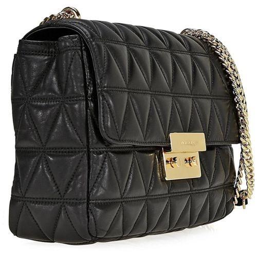 14b520421 Bolsa Michael Kors Original Sloan Large Shoulder Bag Black - R$ 995,00 em  Mercado Livre