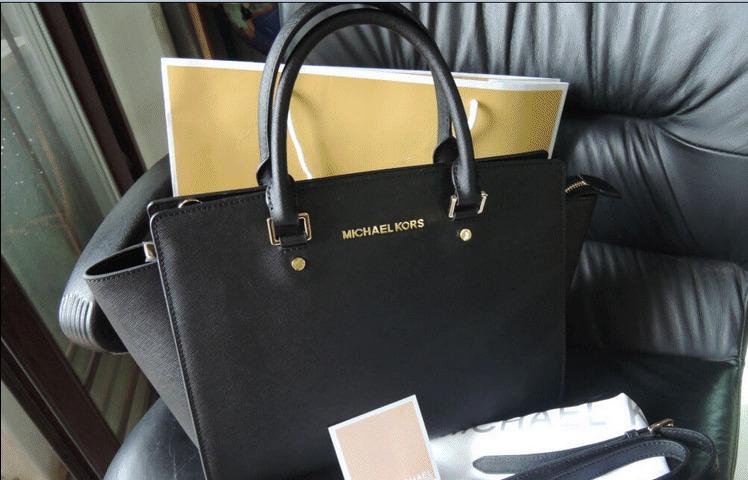 825fc97ce Bolsa Michael Kors Selma Preta Grande Large Original!! - R$ 959,99 em  Mercado Livre