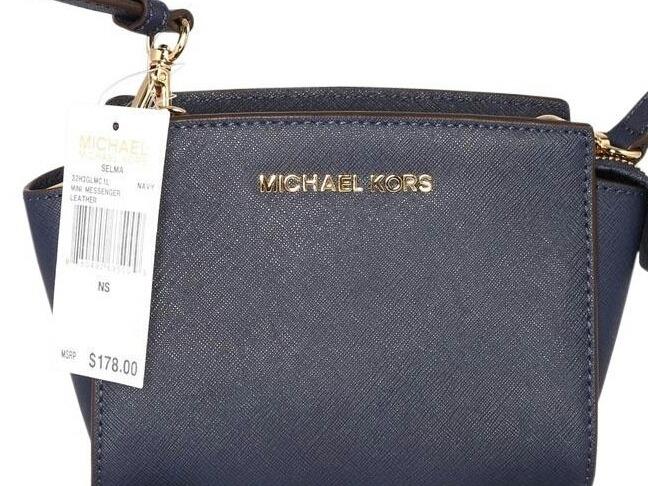 56b878e37 Bolsa Michael Original Nova Selma Admiral!kros Kross - R$ 699,00 em ...