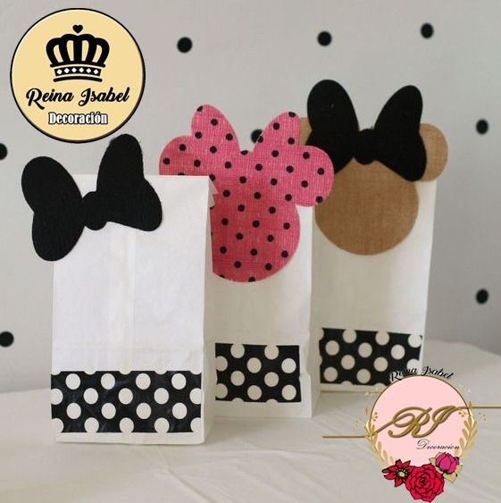 c701f0b94 Bolsa Mickey Minnie Disney Bautismo Cumpleaños Candy Bar - $ 29,20 ...
