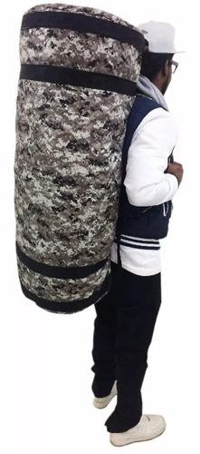bolsa militar exército saco viagem mala grande alça 90l